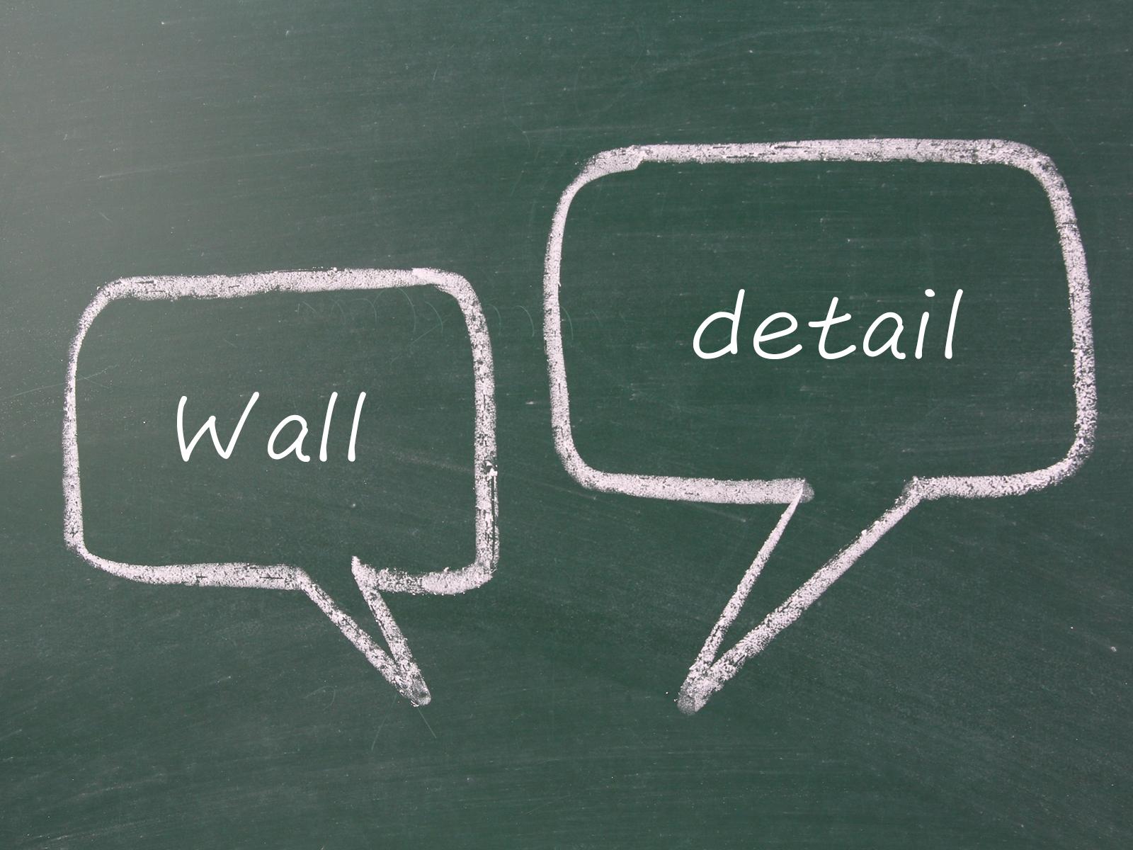 おしゃれにするなら壁やディテールを重視