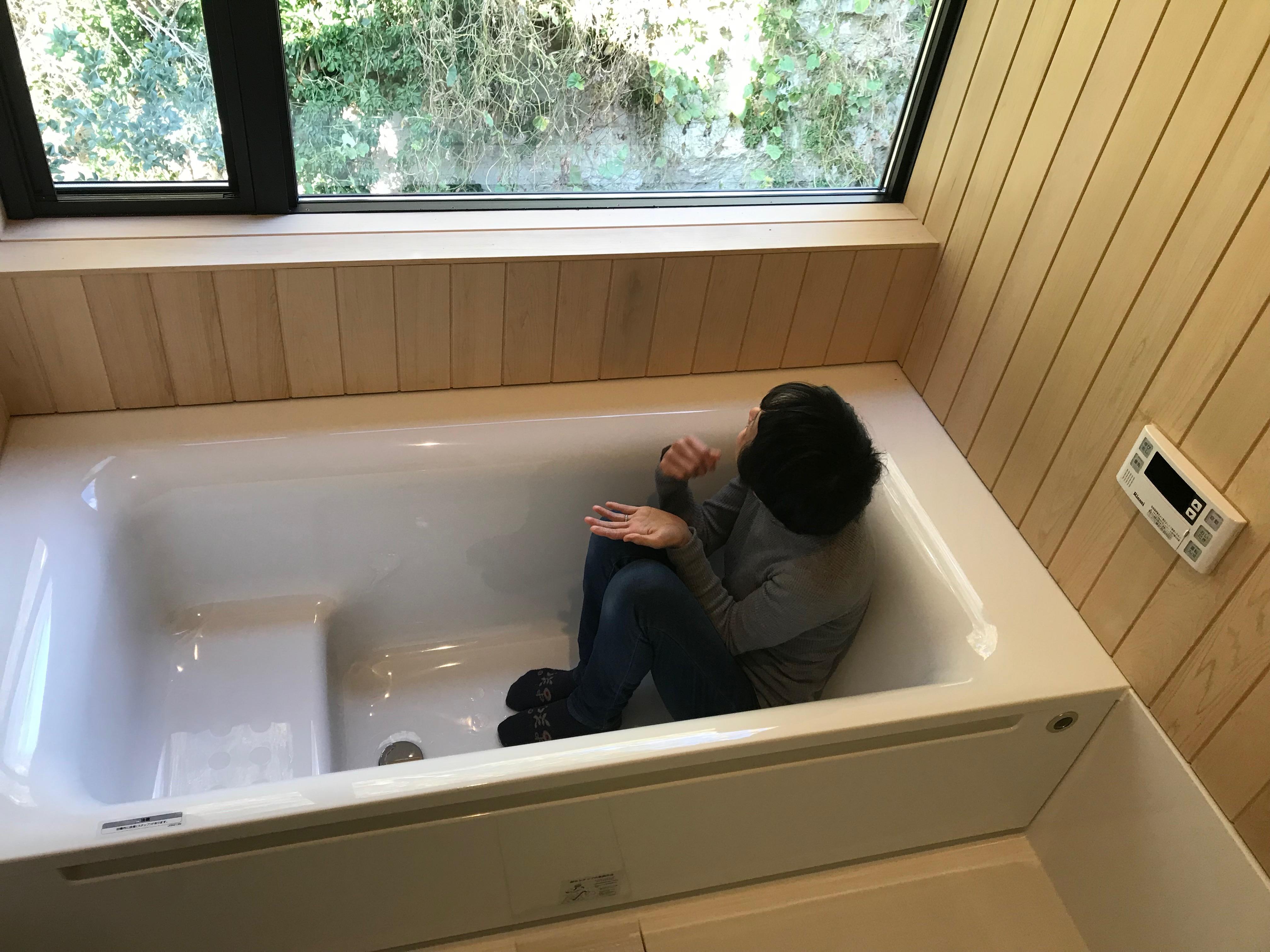青森ヒバのお風呂 施工実例