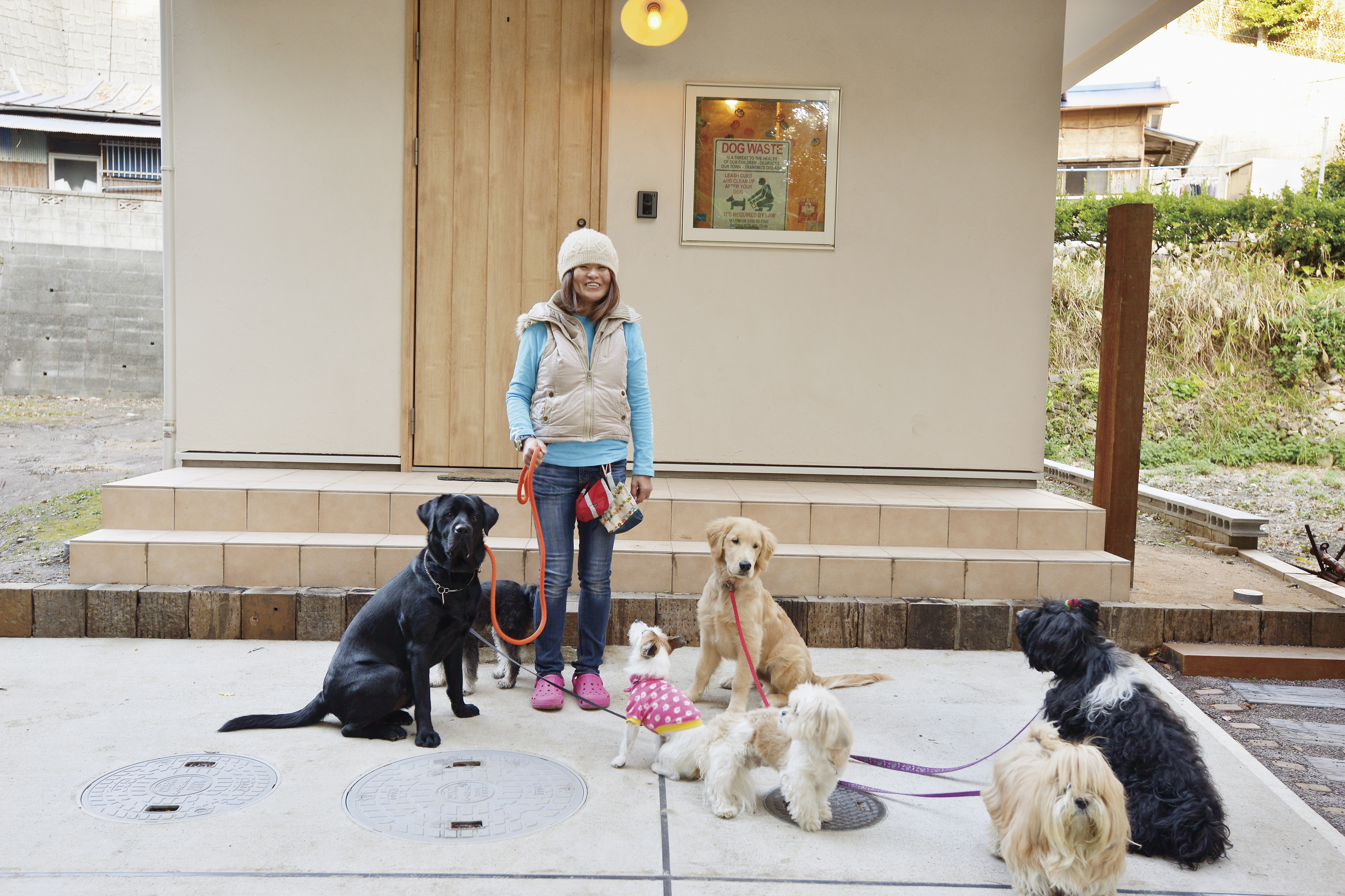 犬の預かりやしつけをサポート〜ペットシッターの建てた新築の家