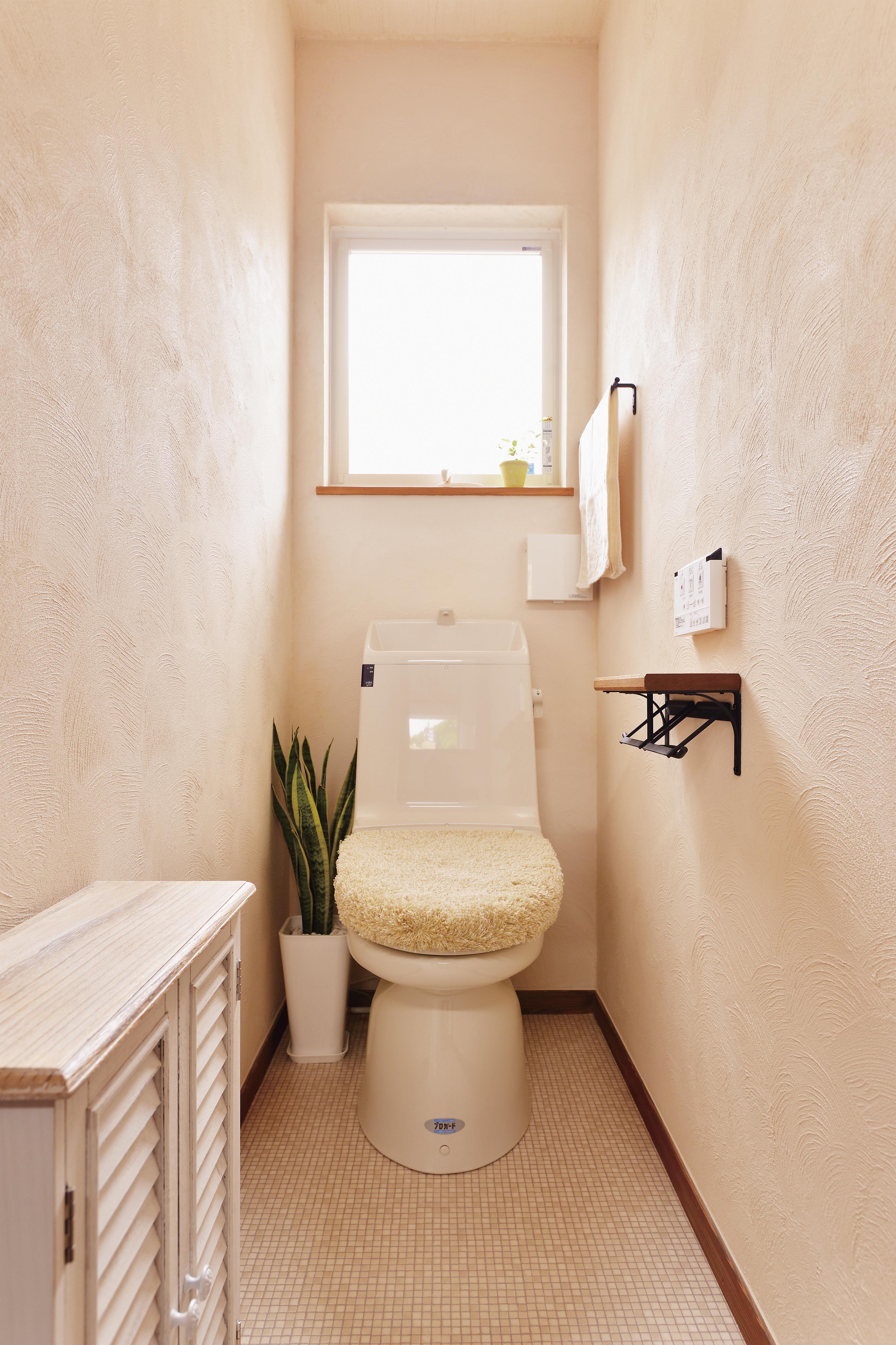 トイレは普通に標準仕様で