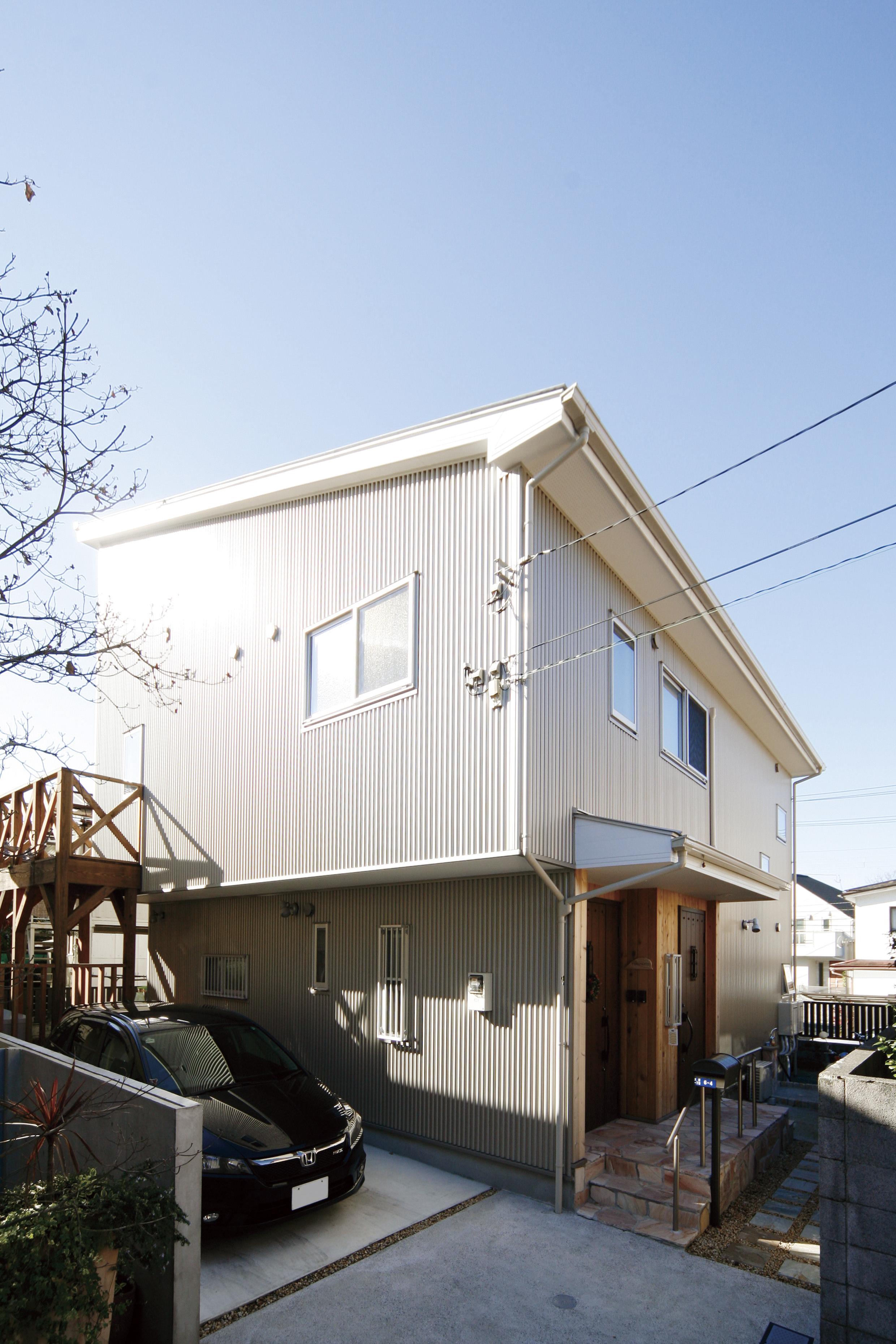 建て替えられた鎌倉の家