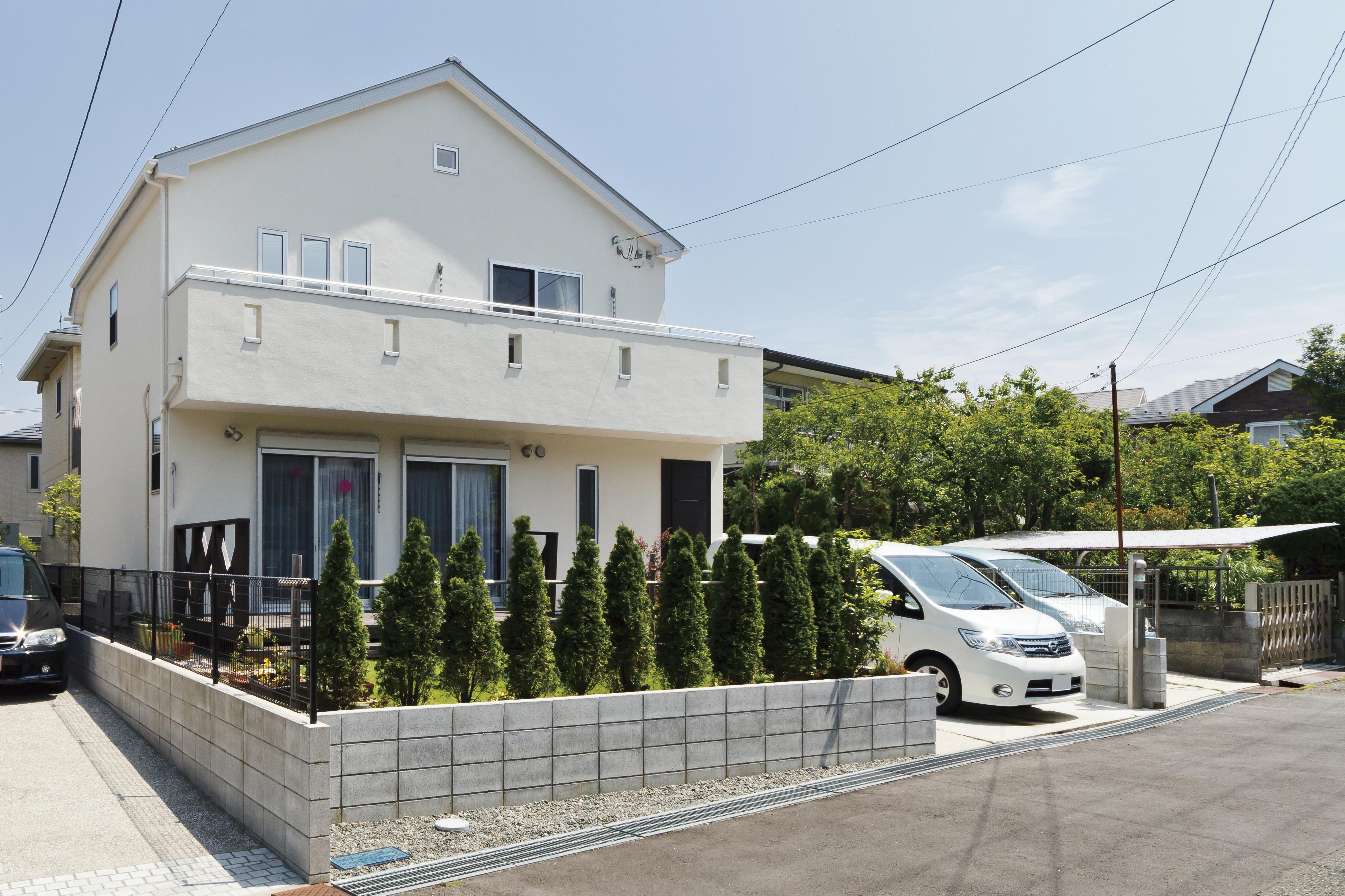 横浜市港南台に建つパパ・ママ・Houseはこちら