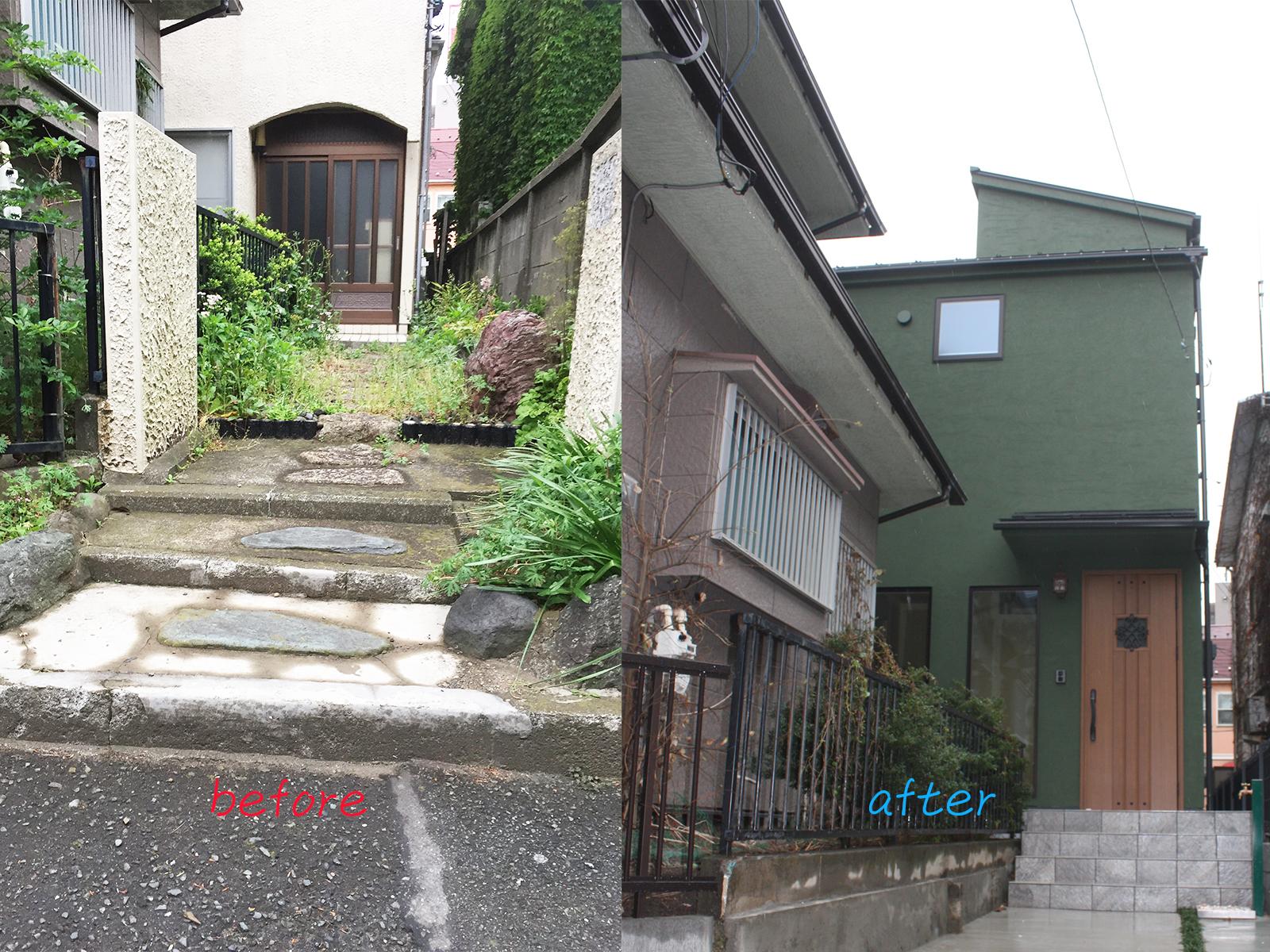 横須賀市の建て替え実例